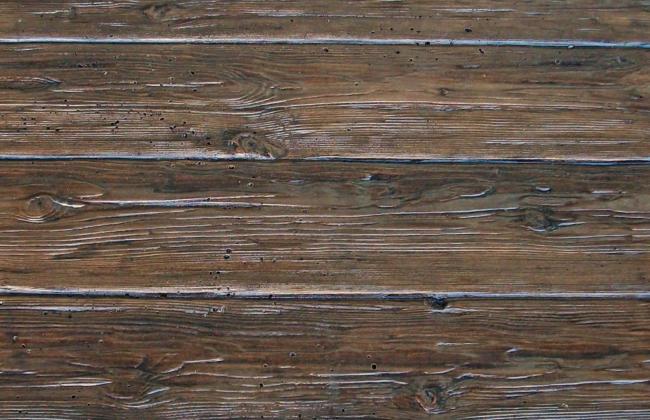Canecillos y placas hormig n imitaci n madera Hormigon impreso rustico
