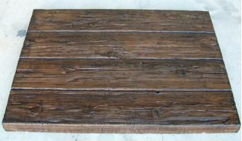 Canecillos y placas hormig n imitaci n madera - Placas imitacion piedra ...