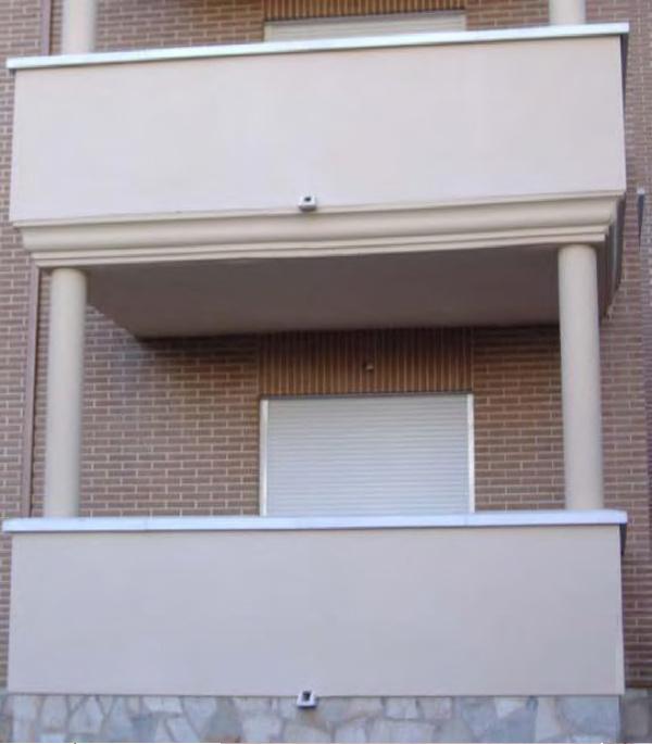 G rgola desag e o desaguadero para terrazas balcones - Tejados para terrazas ...