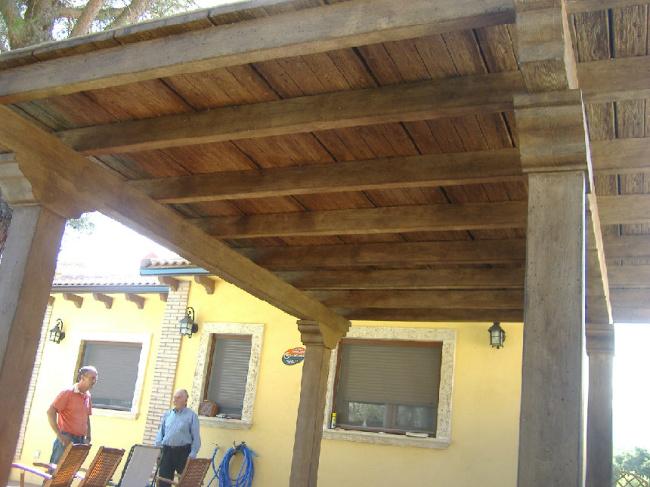 Prefabricados hormig n imitaci n madera en vila hormig n - Hormigon imitacion madera ...