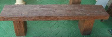 Mesas y bancos para jardines prefabricados piedra artificial mobiliario urbano - Bancos de obra para jardin ...