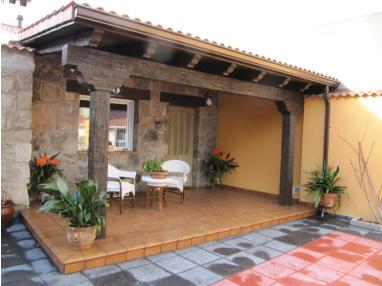 P rgolas porches cenadores prefabricados hormig n for Cobertizos prefabricados metalicos