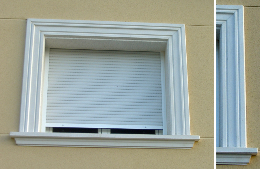 Recercados ventanas puertas rústicos lisos piedra artificial ...