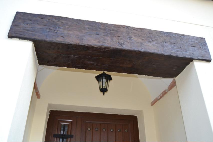 Recercados y cargaderos ventana hormig n imitaci n madera for Ventanas de madera precios en rosario