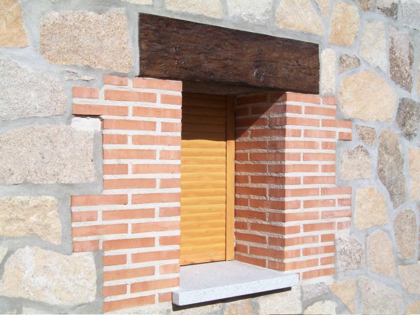 Recercados y cargaderos ventana hormig n imitaci n madera - Vigas de hormigon imitacion madera ...