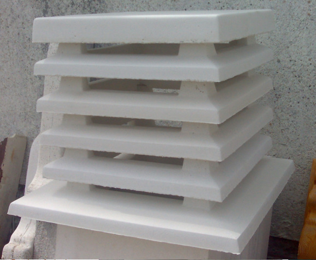 Remate chimenea con tejadillo y aspirador est tico en for Tejado de madera o hormigon