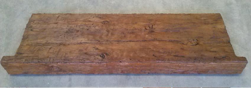 Vierteaguas piedra artificial y hormig n imitaci n madera for Casillas de madera precios