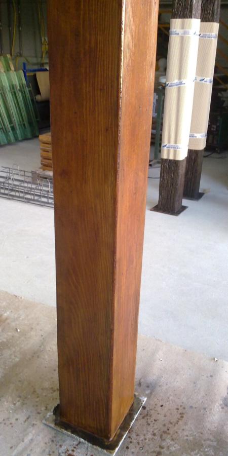 Prefabricados vigas viguetas pilares cargaderos hormig n - Hormigon imitacion madera ...