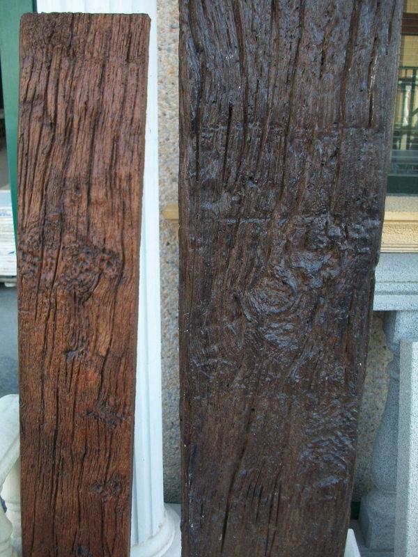 Vigas viguetas pilares cargaderos hormig n imitaci n - Vigas de hormigon imitacion madera ...
